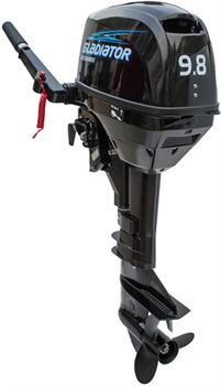 Лодочный мотор двухтактный Gladiator G9,8FHS - фото 11333