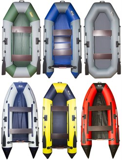 Лодка ПВХ ИНЗЕР 2 (2400\310) Передвижные сидения - фото 11426