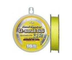 Плетеный шнур YGK Real Sports G-Soul SS 150m №1,5 16lb - фото 8047