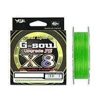 Плетеный шнур YGK G-soul WX8 UPGRADE 150m №1,0 22 lb - фото 8053