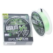 Плетеный шнур Norstream Absolute Game x8 fluo light green №1 14lb NBLA8-10130