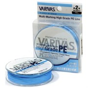Плетеный шнур Varivas High Grade PEx8 Ocean Blue 150м №1.5