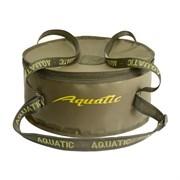 Ведро Aquatic В-03 для приготовл. прикормки малое с крышкой