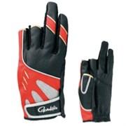 Перчатки Gamakatsu GM-7176 черно/красный р-р L