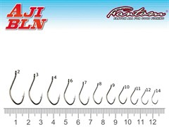 Крючок Fantom SW-016-1 Aji BLN Size: 11