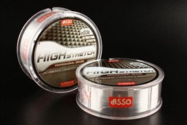 Флюорокарбон ASSO Fluorocarbon High Stretch 0.156mm 50m