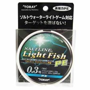 Плетеный шнур Toray S.L. Light Fish PE 100m №0.5
