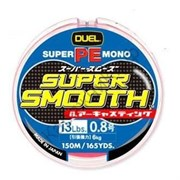 Плетеный шнур DUEL PE Super Smooth #0.8 150m 6kg