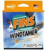 Плетеный шнур Fins Windtimer 8Lb yellow