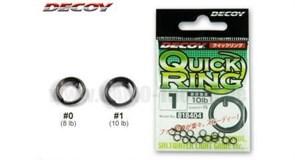 Заводные кольца Decoy QUICK RING #1