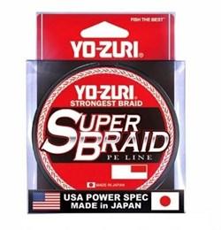 Плетеный шнур Yo-Zury Superbraid R1280-S x8 150m 20Lb №1 - фото 10699