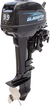 Лодочный мотор двухтактный Gladiator G9,9FHS - фото 11337
