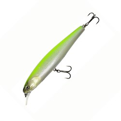 Воблер Jackall Smash Minnow 110 F pearl chartreuse - фото 17430