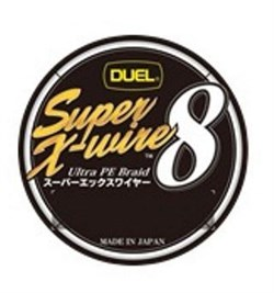 Плетеный шнур DUEL H3599-S SUPER X-WIRE 8 150MTS SILVER 20LBS №1,0 - фото 5332