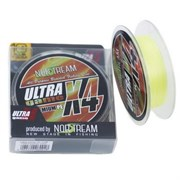 Плетеный шнур Norstream Ultra Game x4 fluo yello №1,2 17lb NBLU4-12150