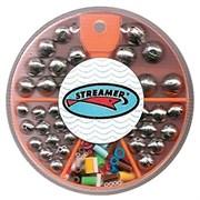 Набор грузил Streamer шар №5 1,0-4,0гр с кембриками