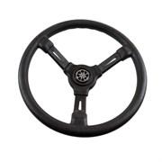 Рулевое колесо RIVIERA  черный обод и спицы д.350 мм VN8001-01