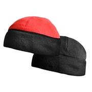 Шапка флисовая Охотник двусторонняя черный/красный