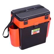 Ящик зимний Helios FishBox (19л) оранжевый  MB-BU-W-04