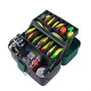 Ящик рыболовный ЯР-2 (380*190*180) 2 лотка 003.0791