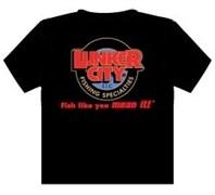 Футболка Lunker City Black