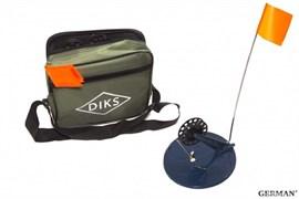 Набор жерлиц ДИКС-2 в сумке оснащен. (6 шт.),катушка ф78мм,основание,ф200мм