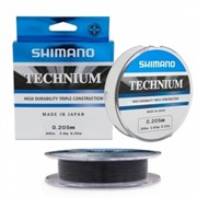Леска Shimano Technium 200м 0,255мм 6,1кг