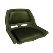 Сиденье пластиковое Skipper с виниловыми накладками SK75109O