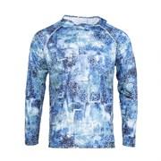 Рубашка FHM Mark Hoodie Принт голубой