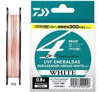 Плетеный шнур Daiwa Emeraldas Durasensor x4  White 0.5-150