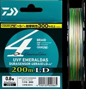 Плетеный шнур Daiwa Emeraldas Durasensor x4  LD 0.4-200