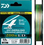 Плетеный шнур Daiwa Emeraldas Durasensor x4  LD 0.8-200
