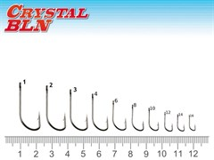 Крючок Fantom SW-1123-1 Crystal BLN Size: 2