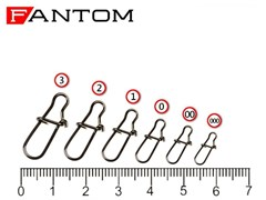 Застежка Fantom YM-2004-#1-BN Nice Snap (10шт)