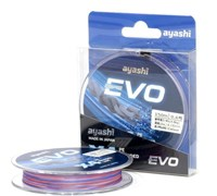Плетеный шнур Ayashi Evo-X4 0,153мм multi
