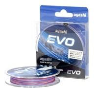 Плетеный шнур Ayashi Evo-X4 0,171мм multi