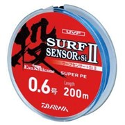 Плетеный шнур Daiwa PE SURF Sensor+Si 200m #1,5