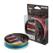 Плетеный шнур Akkoi Mask Arcane X4 Multicolor 200м 0,14мм MA4MC/200-0,14