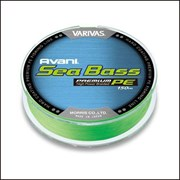 Плетеный шнур Varivas Sea Bass PE 150m №2 (0,203) 28lb