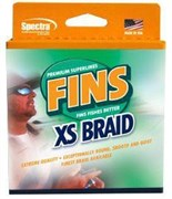 Плетеный шнур Fins Extra Smooth 150yds 10lb Coral Orange